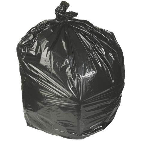 Medline Low Density Black Trash Liners