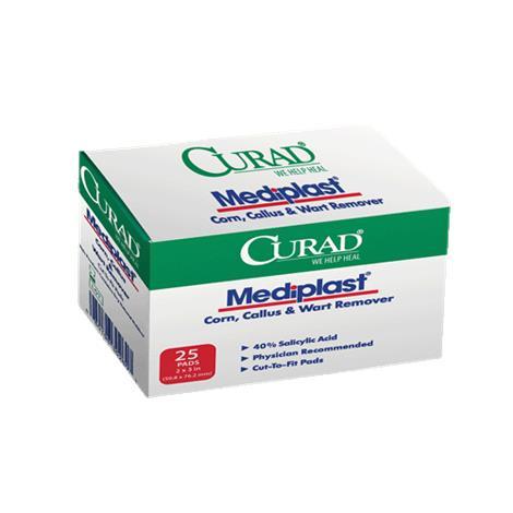 Medline Curad MediPlast Adhesive Cut-To-Fit Pads