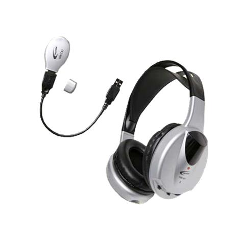 Califone Wireless Infrared Stereo or Mono Headphone with Transmitter