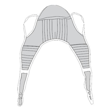 Drive Padded U-Sling With Head Support