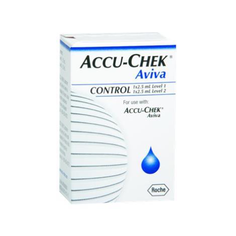 Roche Accu-Chek Aviva Glucose Control Solution