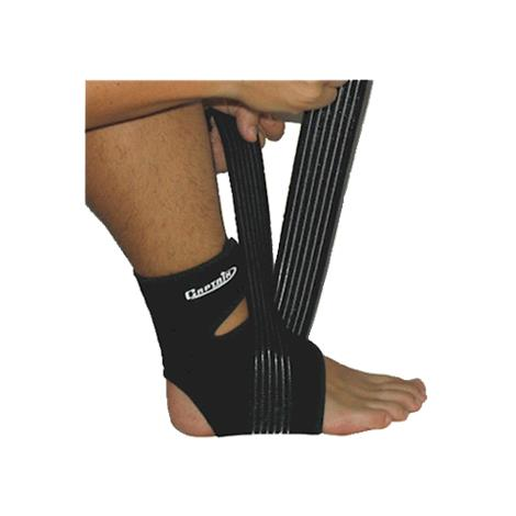 Captain Adjustable Ankle Support with Spandex Wrap