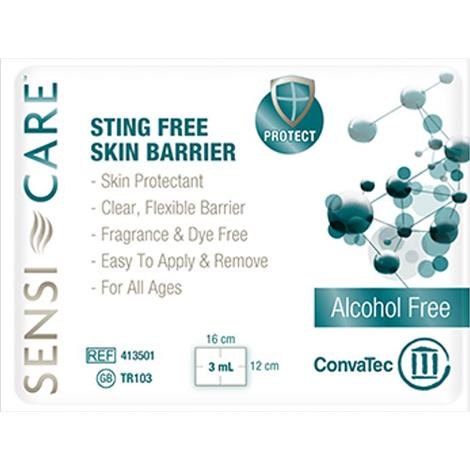 Convatec Sensi-Care Sting Free Skin Barrier Wipe