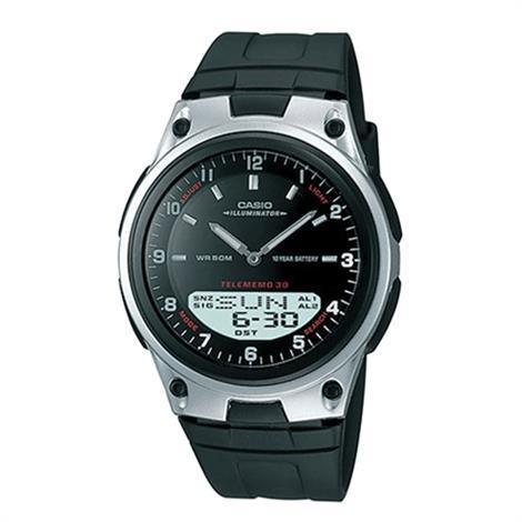 Casio Unisex Sports Analog/Digital Black Dial Watch