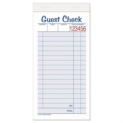 Buy Adams Guest Check Pad