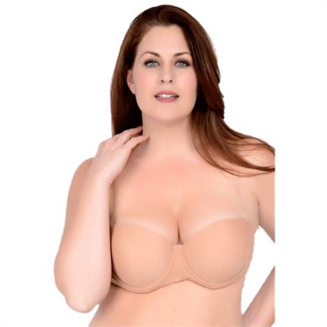 QT Intimates Clearly Hooked Padded Molded Bra