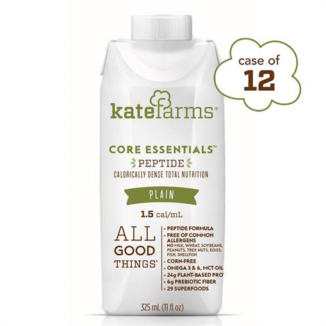 Kate Farms Core Essentials Peptide 1.5 Supplemental Formula