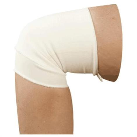 Buy AT Surgical Pull On Knee Cap Support Brace with Double Fold Elastic