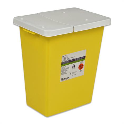 Covidien Kendall SharpSafety Chemosafety Containers with Hinged Lid