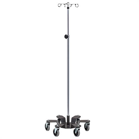 Clinton Six Leg Heavy Base Infusion Pump Stand