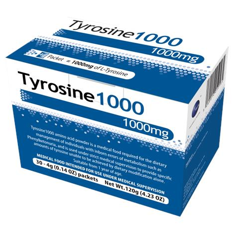 Vitaflo Tyrosine1000 Powdered Amino Acid Medical Food