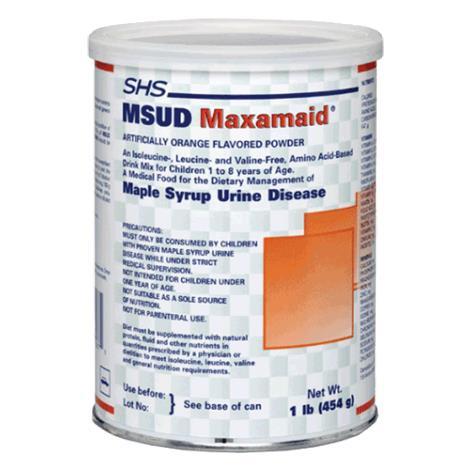 Nutricia Maxamaid MSUD Powdered Medical Food