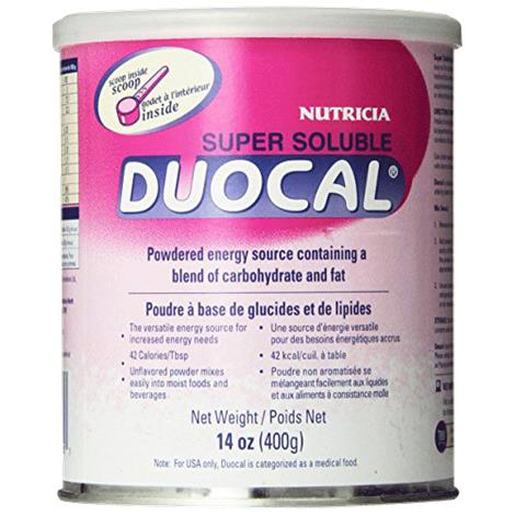 Nutricia Super Soluble Duocal Powdered Medical Food