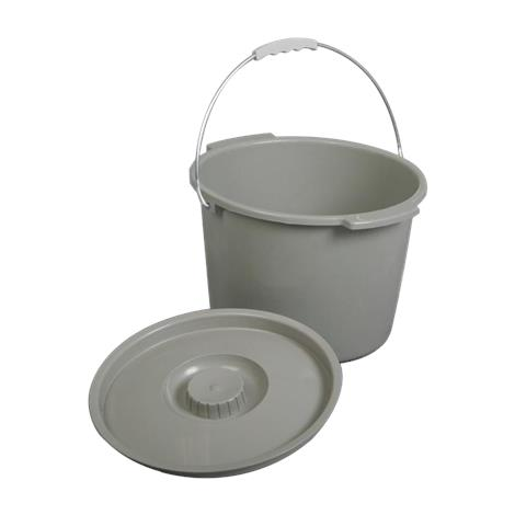 Medline Commode Bucket With Lid And Handle