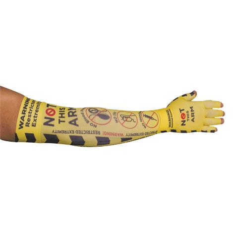 LympheDudes Hospital Compression Arm Sleeve And Glove