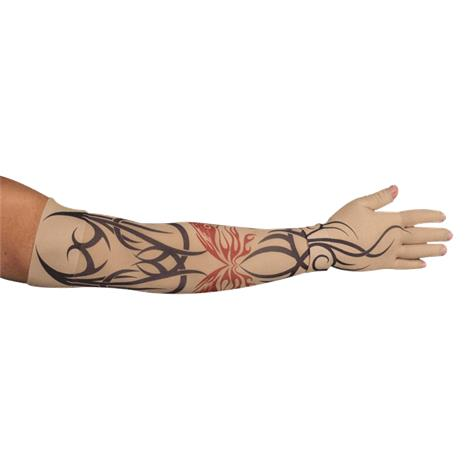LympheDudes Inked Compression Arm Sleeve And Glove