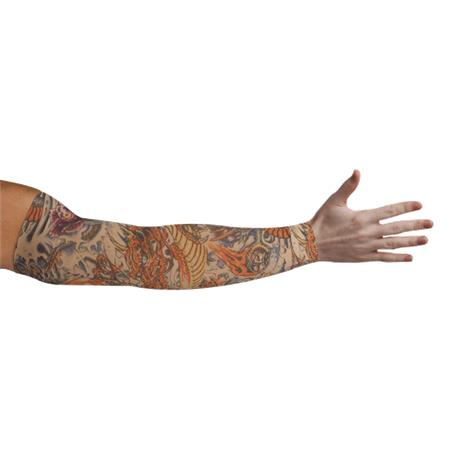 LympheDudes Lotus Dragon Tattoo Compression Arm Sleeve