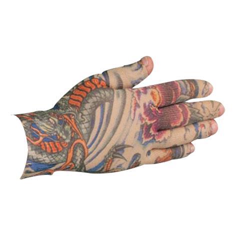LympheDudes Lotus Dragon Tattoo Compression Glove
