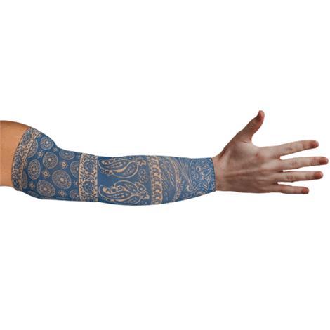 LympheDudes Blue Bandit Compression Arm Sleeve