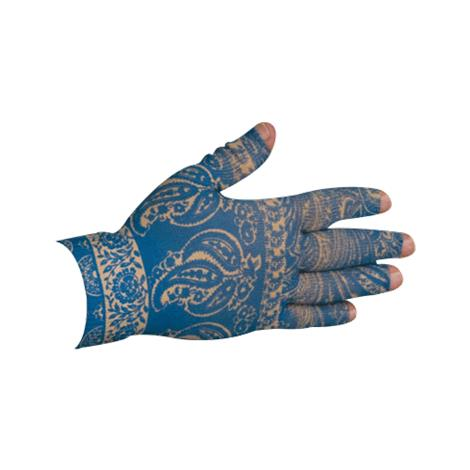 LympheDudes Blue Bandit Compression Glove
