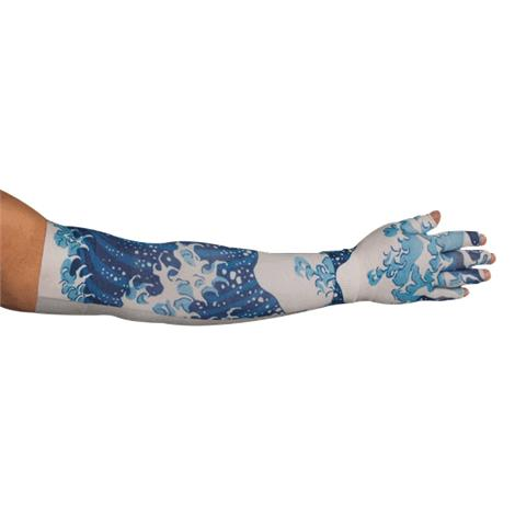 LympheDudes Great Wave Compression Arm Sleeve And Glove