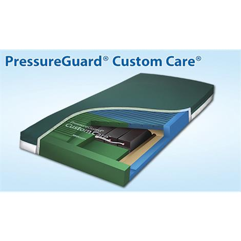 Span America PressureGuard Custom Care Mattress with Reactive Pressure Redistribution Surface