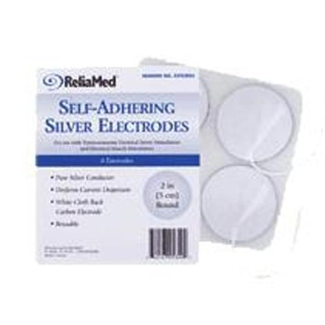 Buy ReliaMed Round  Silver Carbon Electrode
