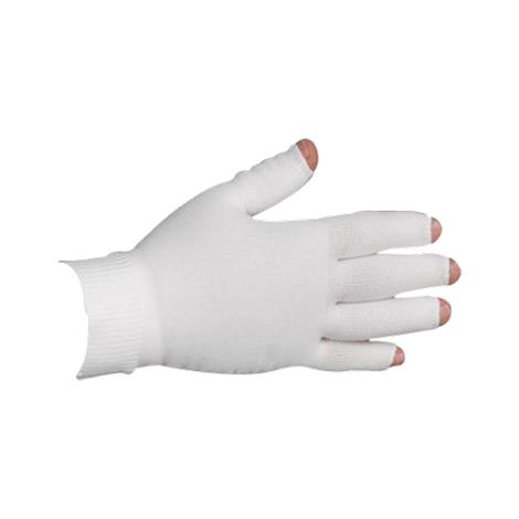 LympheDudes White Compression Glove