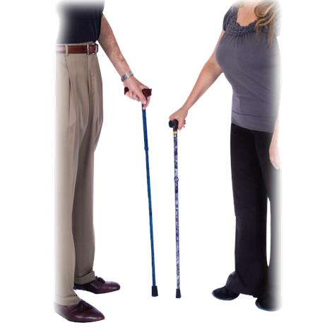Essential Medical Spring Garden Collection Demi Aluminum Folding Cane