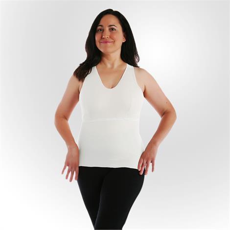 Buy Softee Vee White Prosthetic Camisole