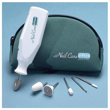 Medicool NailCare Plus Battery Powered Manicure And Pedicure Machine