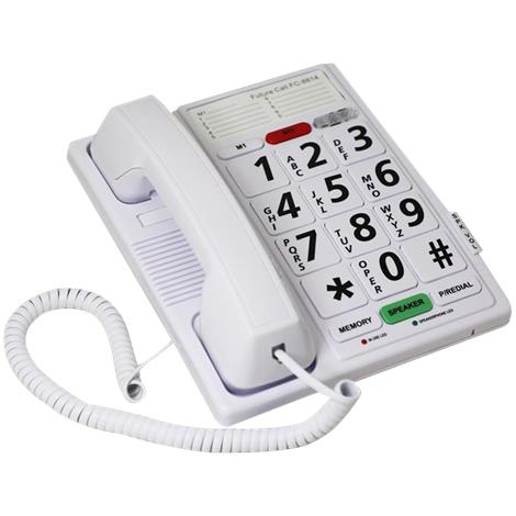 Future Call Big Button Speaker Phone With Headset Jack