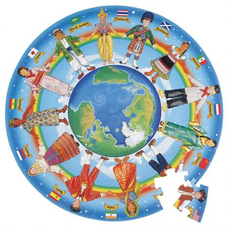 Melissa & Doug Children Of The World Floor Puzzle