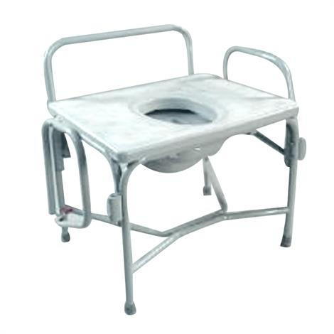 Tubular Fabricators The Grand Line Extra Wide Heavy Duty Drop Arm Bariatric Commode