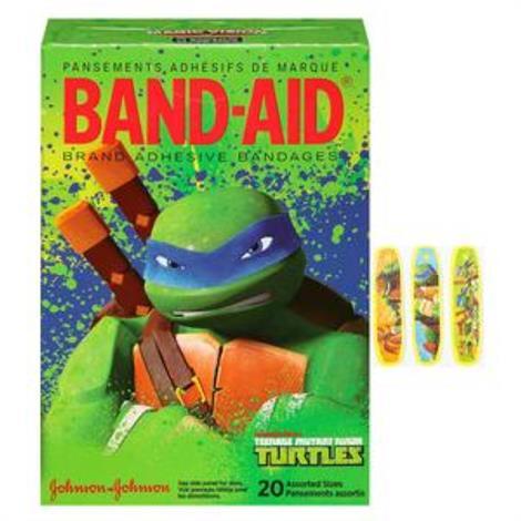 Buy Johnson & Johnson Band-Aid Decorated Teenage Mutant Ninja Turtles Adhesive Bandage
