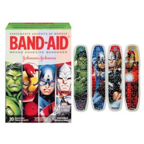 Buy Johnson & Johnson Band-Aid Decorated Avengers Assemble Adhesive Bandage
