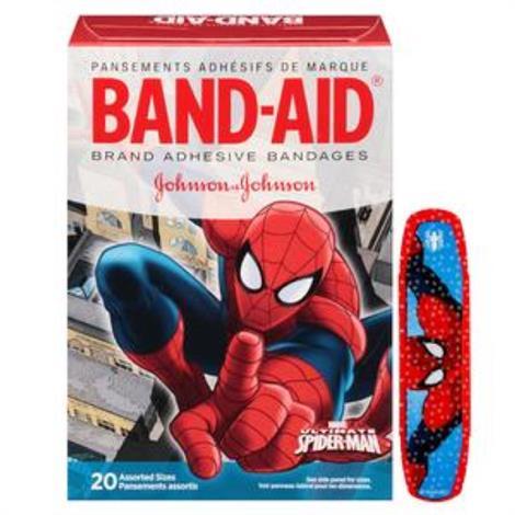 Buy Johnson & Johnson Band-Aid Decorated Spiderman Adhesive Bandage