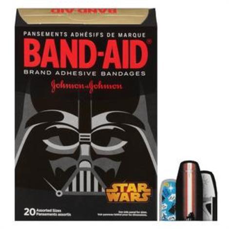 Buy Johnson & Johnson Band-Aid Decorated Star Wars Adhesive Bandage