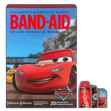 Buy Johnson & Johnson Band-Aid Decorated Cars Adhesive Bandage