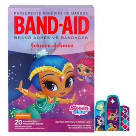 Buy Johnson & Johnson Band-Aid Decorated Shimmer And Shine Adhesive Bandage