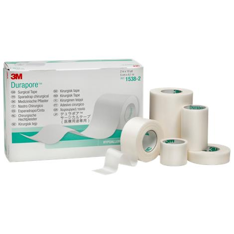 3M Durapore Silk Cloth Surgical Tape