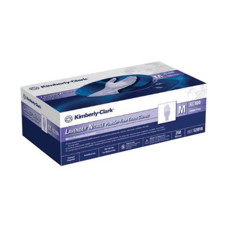 Kimberly-Clark Lavender NonSterile Exam Gloves