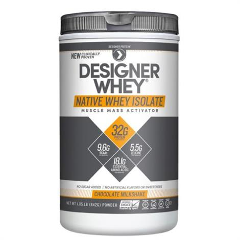 Designer Native Whey Isolate Protein