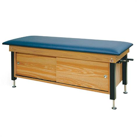 Hausmann Crank Hydraulic Cabinet-Style Changing Treatment Table