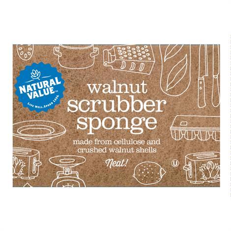 Natural Value Scrub Sponge