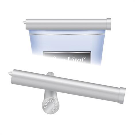 Bon Vital 8 Ounce Silver Refillable Tube Clip For Massage Creme