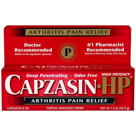 Buy Capzasin-HP Arthritis Pain Relief Creme