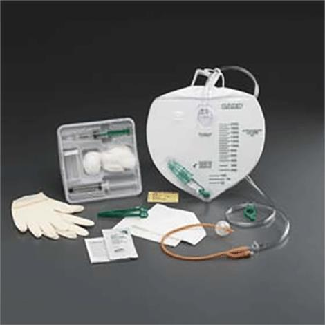 Buy Bard Lubricath Center-Entry Drainage Bag Foley Tray wtih Tamper-Evident Seal and Anti-Reflux Device