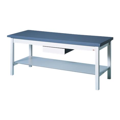 Hausmann Professional Treatment Table With Storage Shelf