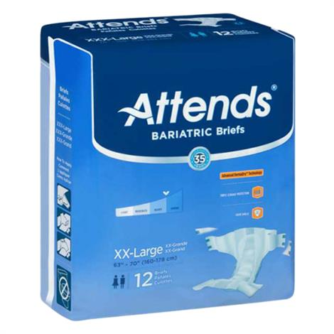 Attends Dermadry Plus Incontinence Brief